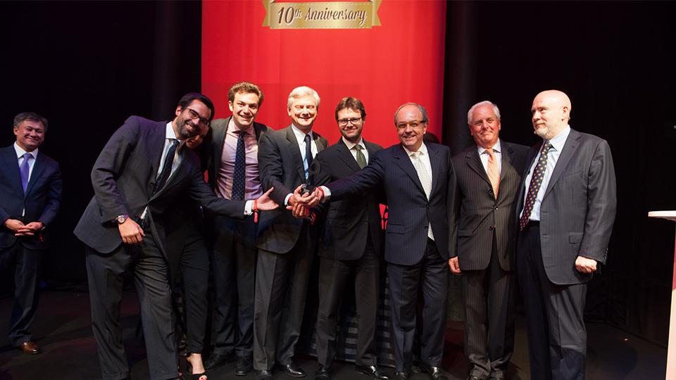 Il team di Barabino & Partners ai Sabre Awards EMEA 2014