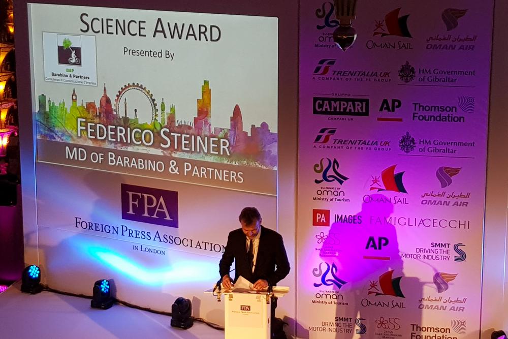 Foreign Press Association Media Awards