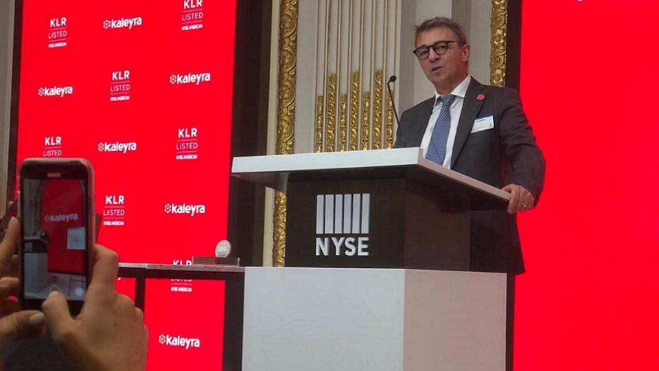 Kaleyra barabino & partners Usa new york nyse corporate communication