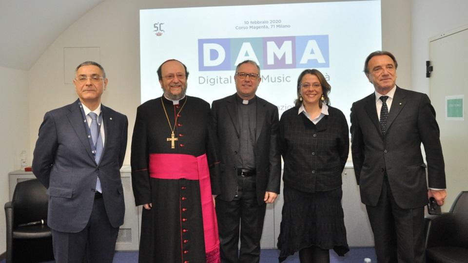 Barabino & Partners inaugurazione DAMA collegio san carlo