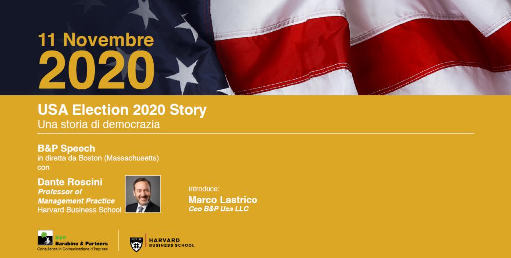 bandiera americana elezioni USA 2020