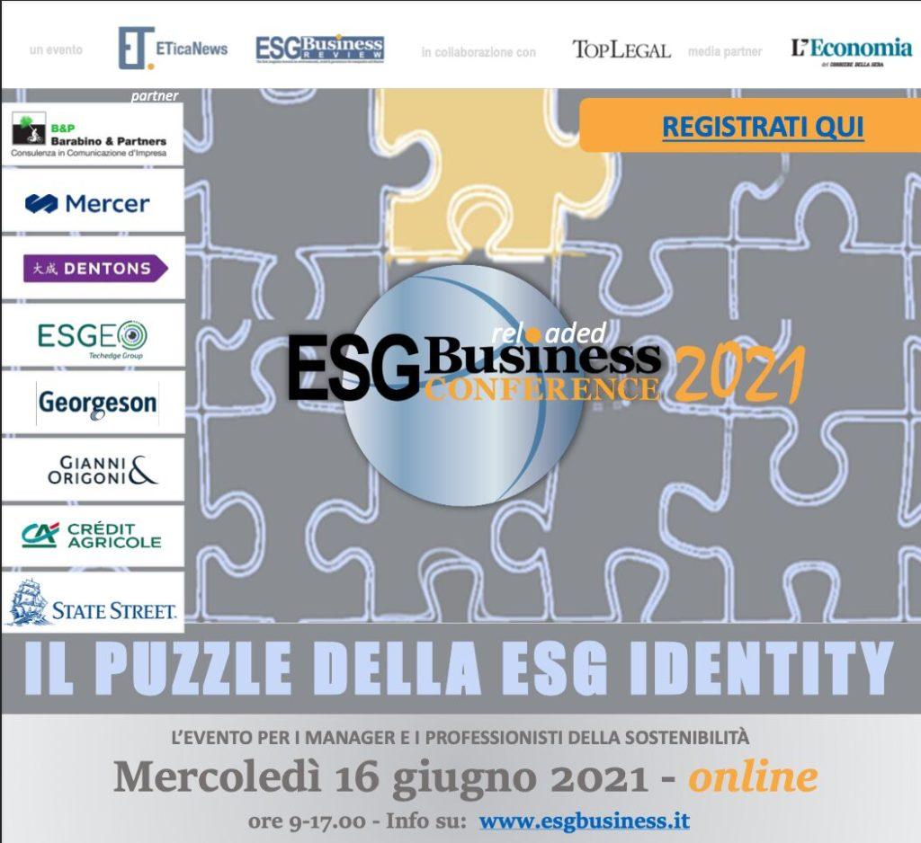 ESG Business conference - locandina